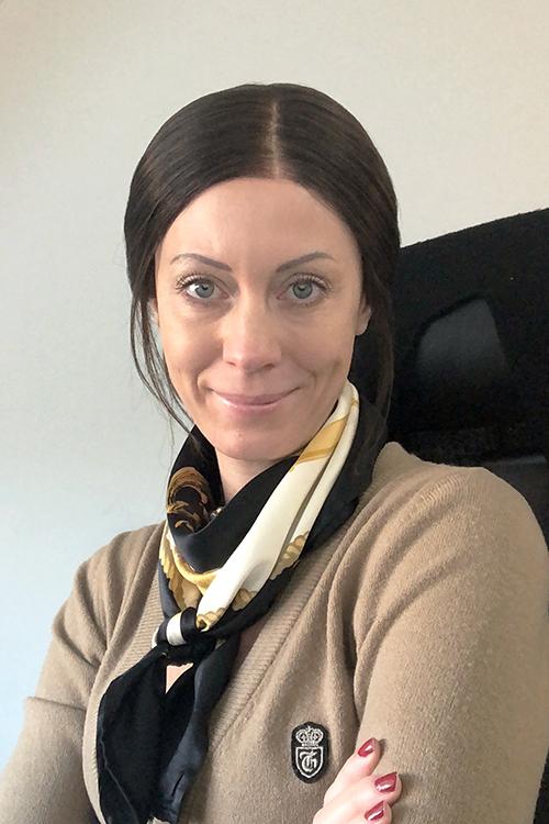 Webbkommunikatör Therese Berggren