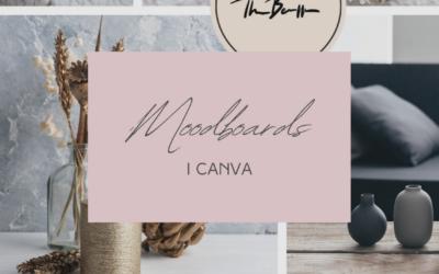 Gör ett moodboard i Canva – steg för steg